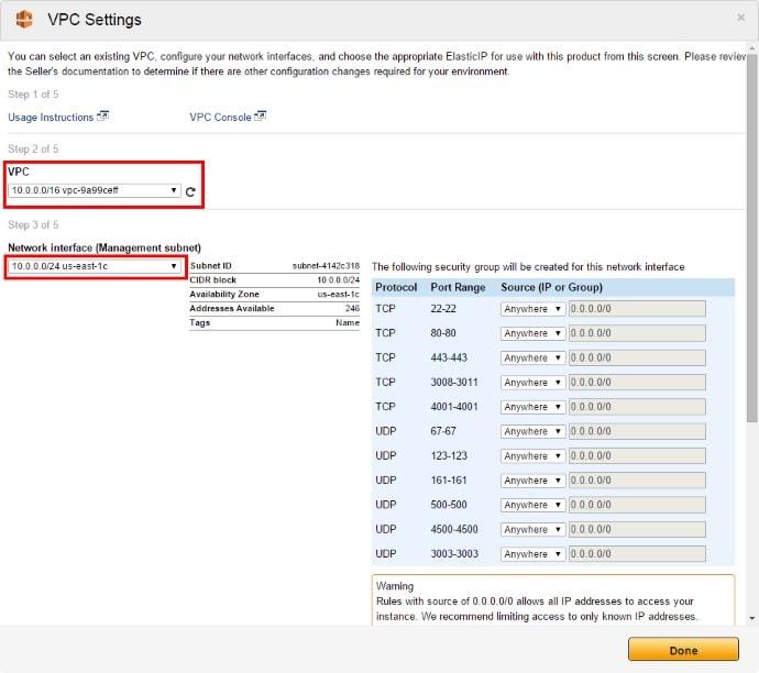 Amazon VPC 1Click 02