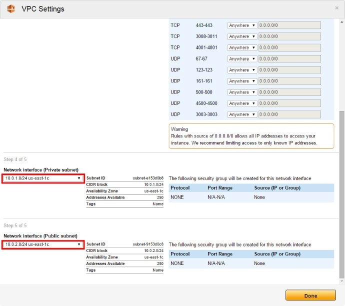Amazon VPC 1Click 03