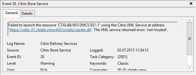 Citrix Receiver Cannot Start App 02