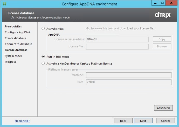 Getting Started with Citrix AppDNA 04
