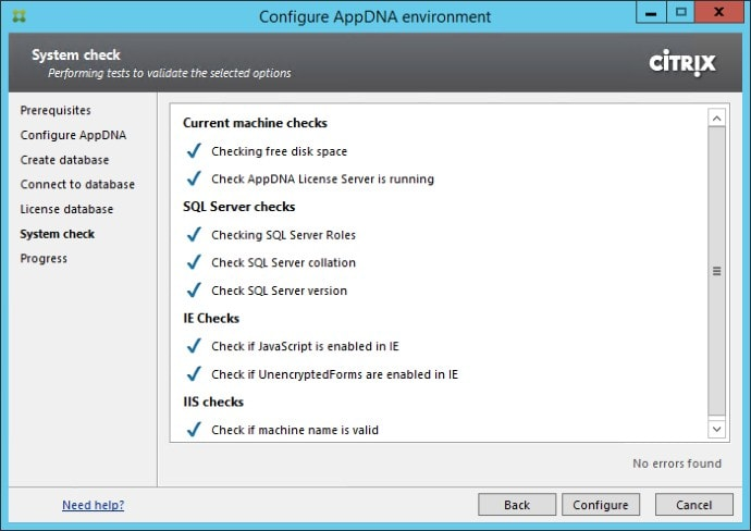 Getting Started with Citrix AppDNA 05