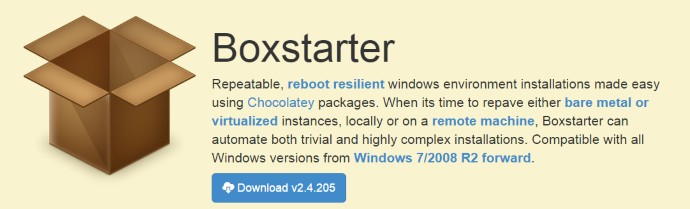 Getting Starter with Chocolatey and Boxstarter 15