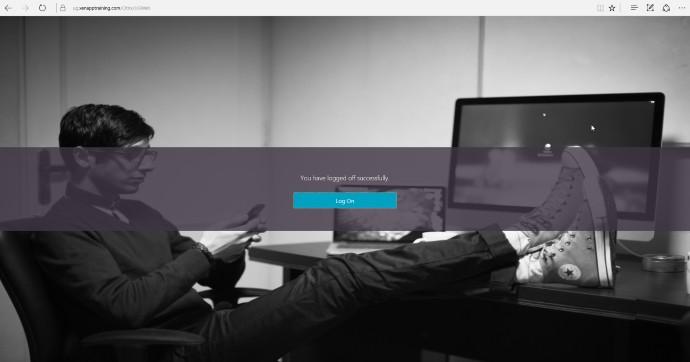 Netscaler Customize Logout Page