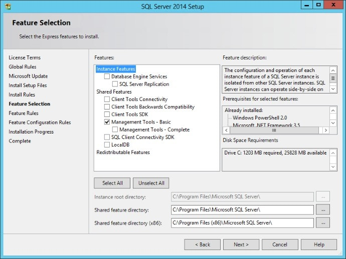 Sequencing SQL Management Studio 2014 06