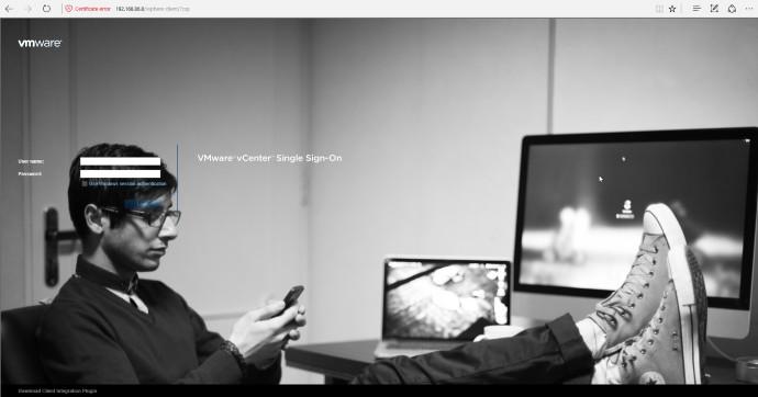 VMware VCSA Custom