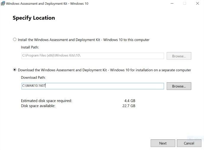 Windows 10 App-V Sequencer 01