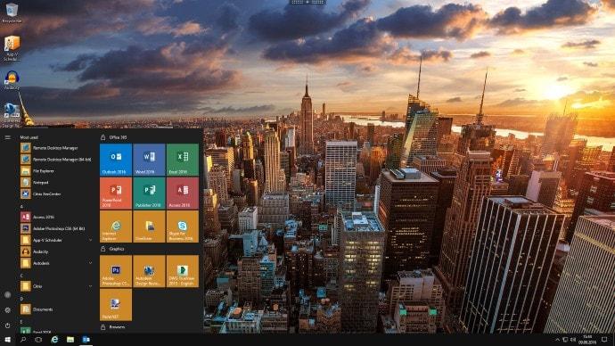 windows-2016-start-menu