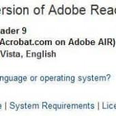 Unattended : Adobe Acrobat Reader 9