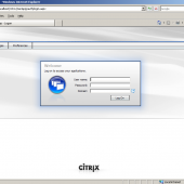 Citrix WebInterface with White Theme