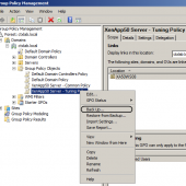 How To Backup and Restore Group Policy