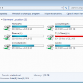 Using Group Policy to hide and map specified drives