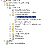 Configure an Authoritative Time Server with Group Policy