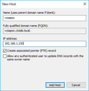 Automatically Deploy VMware VCSA
