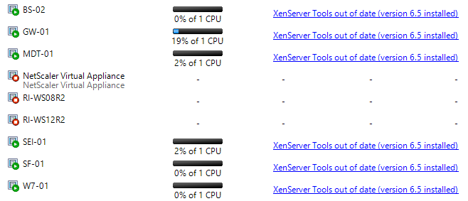 Automatically Update Citrix XenServer Tools 01