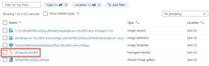 Azure Image Builder Managed Identity