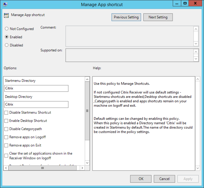 Bulletproof Guide to Citrix Receiver Start Menu Integration 13