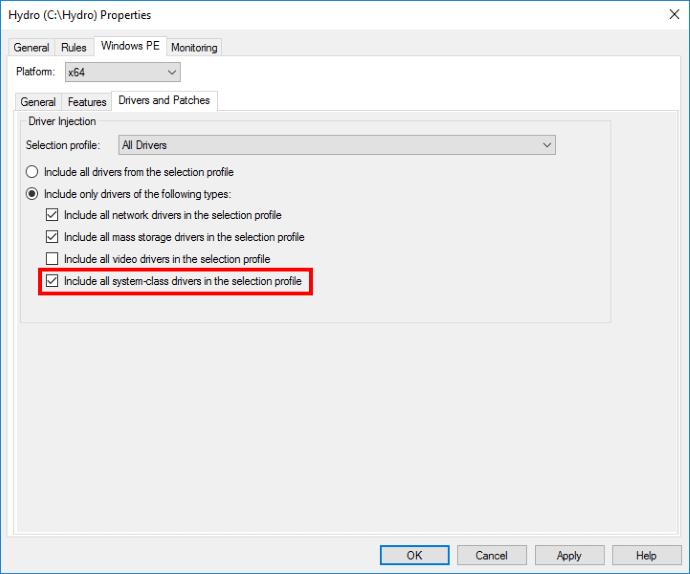 Citrix XenServer WinPE