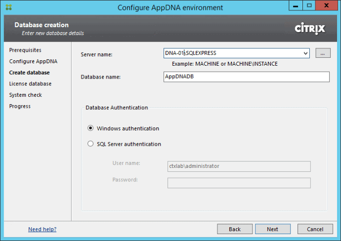 Getting Started with Citrix AppDNA 02