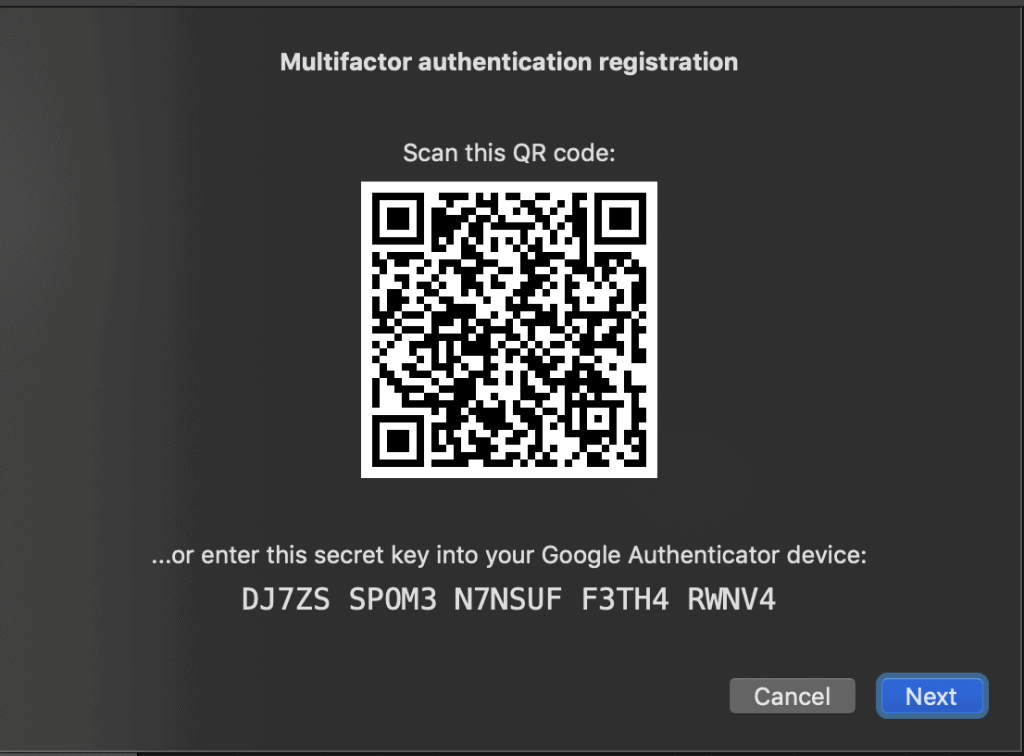Activating 2Fa to avoid RDP hacking