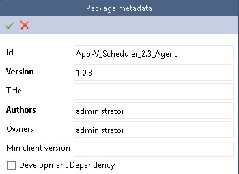 Package Metadata