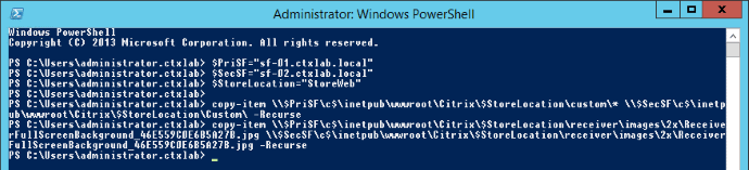 PowerShell Customization Replication