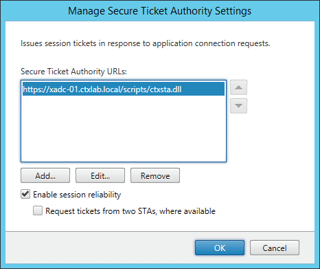 Secure Ticket Authority