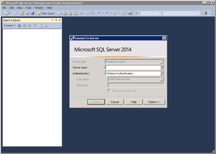 Sequencing SQL Management Studio 2014 10