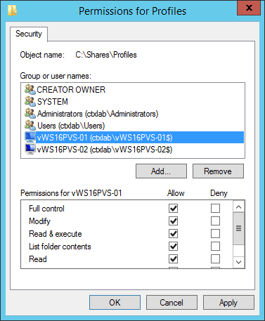 Microsoft User Profile Disk with Citrix XenApp & XenDesktop