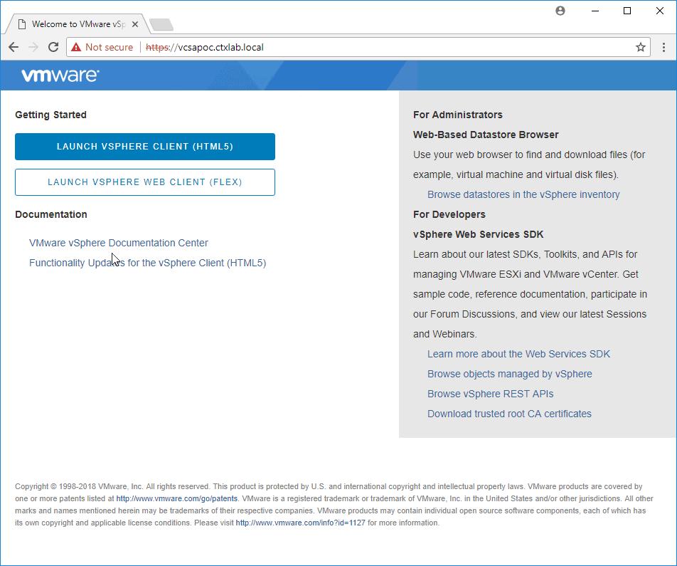 Automatically Deploy VMware VCSA 6 7 - xenappblog