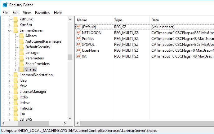 Windows 2016 Migration